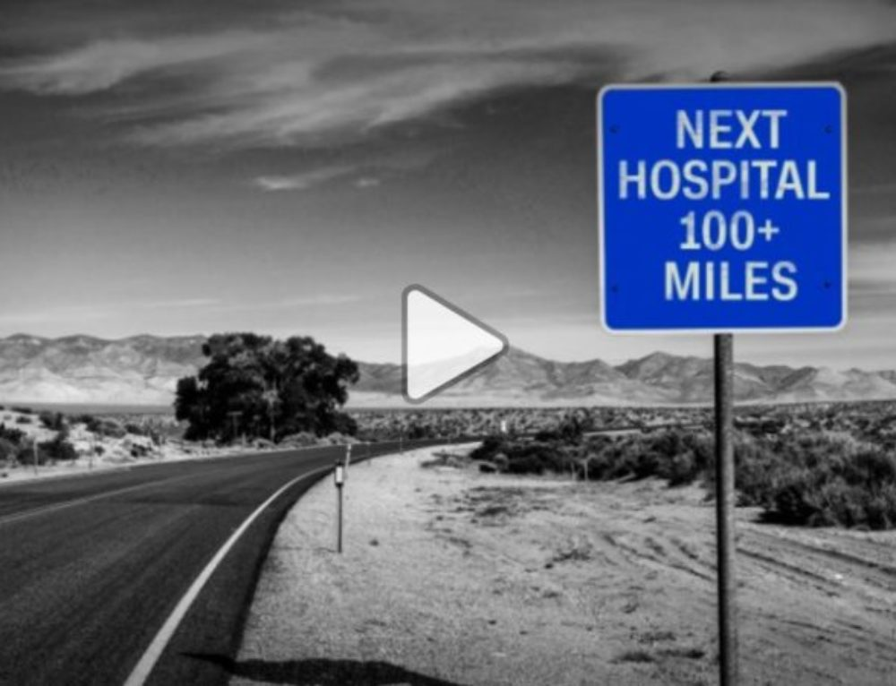 Millions of Americans live nowhere near a hospital, jeopardizing their lives